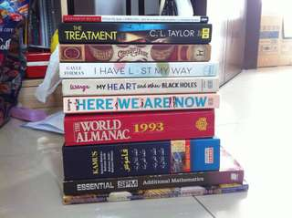 English Books/Novels (+ BM/BA dictionary)