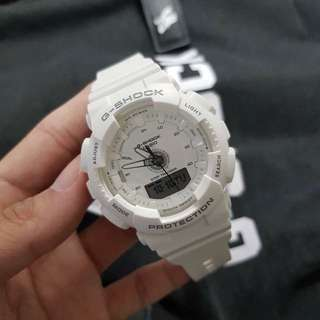 GMAS-130 WHITE GSHOCK WATCH