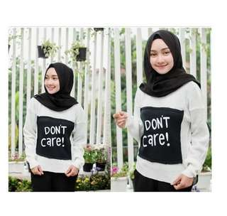 Dont Care Sweater