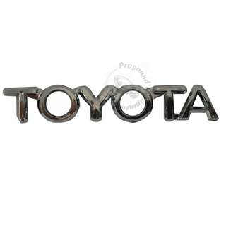 TOYOTA CAR EMBLEM ACCESSORIES