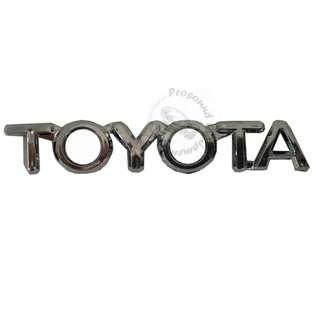 TOYOTA CAR EMBLEM ACCESSORIES