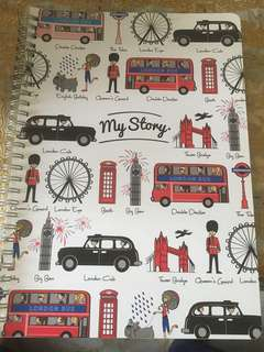 Paperstone London Notebook