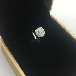 18K白金 40份鑽石 戒指 18K White Gold 40ct Diamond Ring 可議價