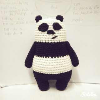 Panda-Amigurumi