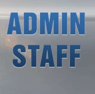 Admin staff (part time)