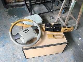 Acr50 方向盤和配件