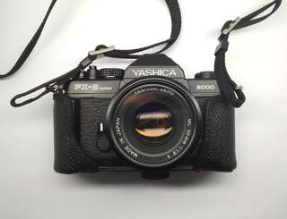 YASHICA FX3 SUPER 2000 SLR manual analog camera