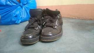 Kids Black Shoes P120