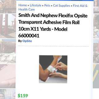 Opsite Flexifix Adhesive Film Roll