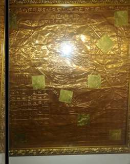 Hanuman on copper sheet