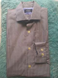 Esquire grey striped shirt authentic