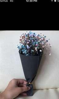 Fresh baby breath flower bouquet