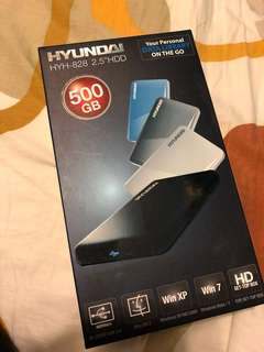 全新 Hyundai hyh-828 2.5'' HDD 500gb