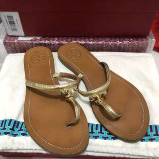 Authentic Tory Burch thong sandals