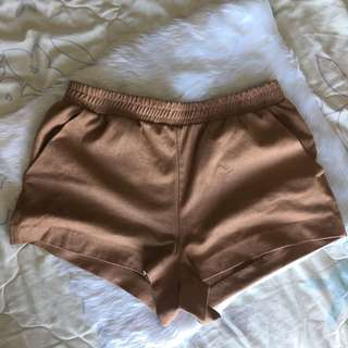 Forever 21 Suede Shorts (fits 25-27)