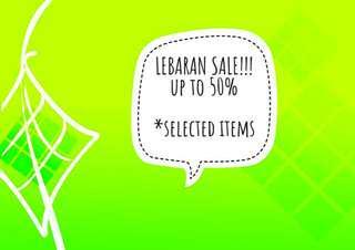 LEBARAN SALE!!! Up to 50%