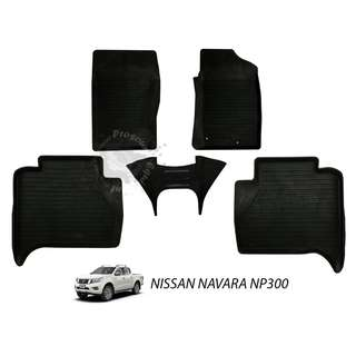 RUBBER MAT FOR NISSAN NAVARA NP300 2015