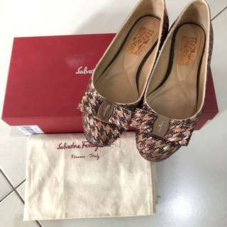 Authentic Salvatore Ferragamo varina coo