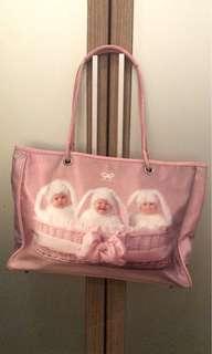 Anya print Baby pink bag