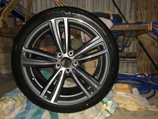 BMW M series 19 inch rim