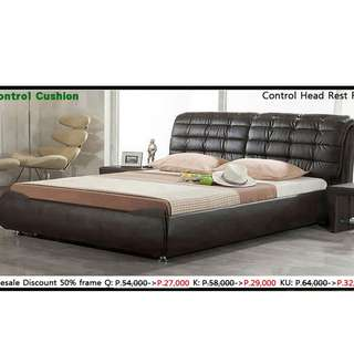 control cusion bed frame