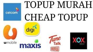 Topup Murah(U Mobile) RM10