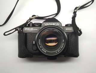 YASHICA FX3 SUPER 2000 slr analog camera