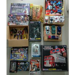 WTS Transformers, Lego & more