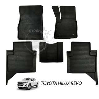 RUBBER MAT FOR TOYOTA HILUX REVO 2015