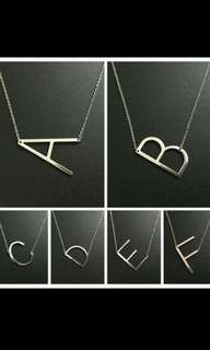 Letter Chain Necklace