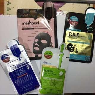 Mediheal / Innisfree Face Masks