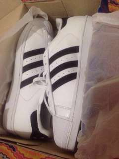 Adidas Superstar black&white