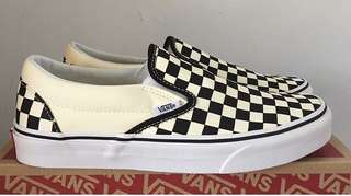 Vans Slipon Checkerboard Black White REPRICE