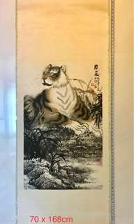 Chinese Painting - Tiger