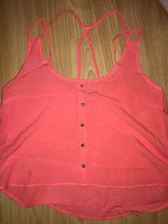 US Brand Pink Top