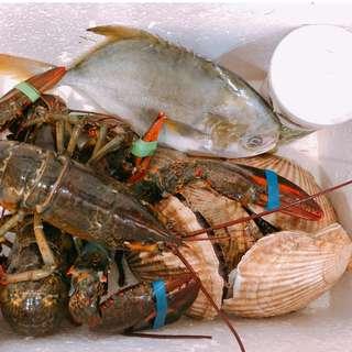 父親節活海鮮套餐