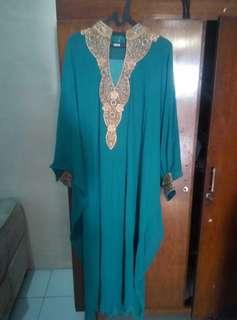 Kaftam Lebaran Turquoise