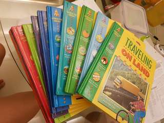 Almost new children encyclopedia series