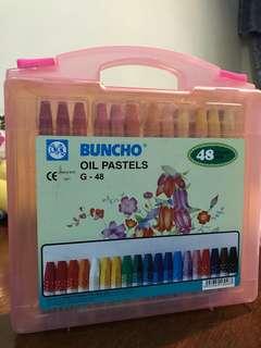 BUNCHO Crayon Set 48 colours