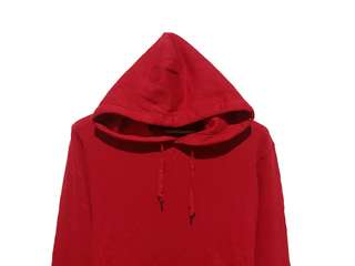 Hoodie Jumper Uniqlo Red
