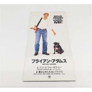 "BRYAN ADAMS Ultra Rare Japan 3"" CD 1995 Please Forgive Me PODM-1018 snap-pack"