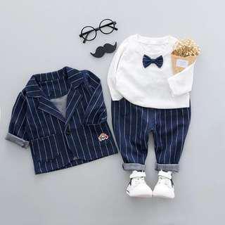 Cute baby boy suits