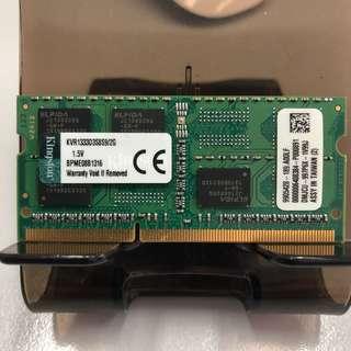 Laptop Ram Apple mac ram 2gb ddr3 10600 1333MHz