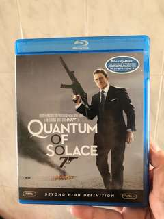 Quantum Of Solace 007 blu ray