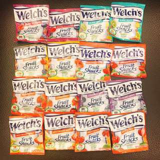 美國零食Welch's水果軟糖