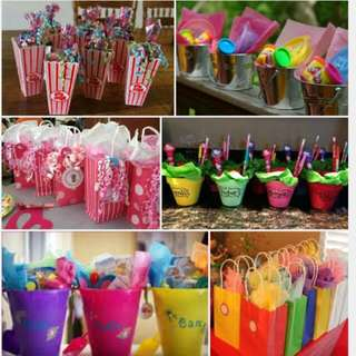 goodies bags for parties packing services
