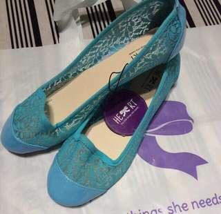 Flat Shoes The Little Things She Needs Size 39 Biru