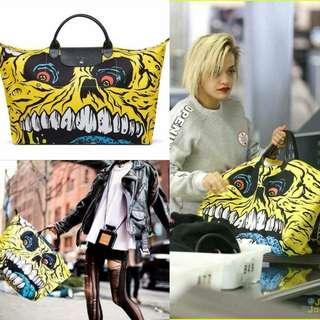 Longchamp Jeremy scott travel bag SALE