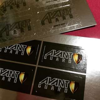 Shiny Foil Sticker Label Printing