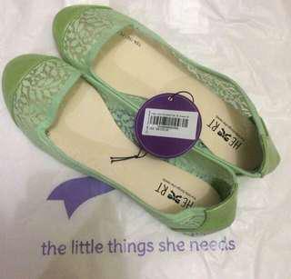 Flat Shoes The Little Things She Needs Size 39 Hijau